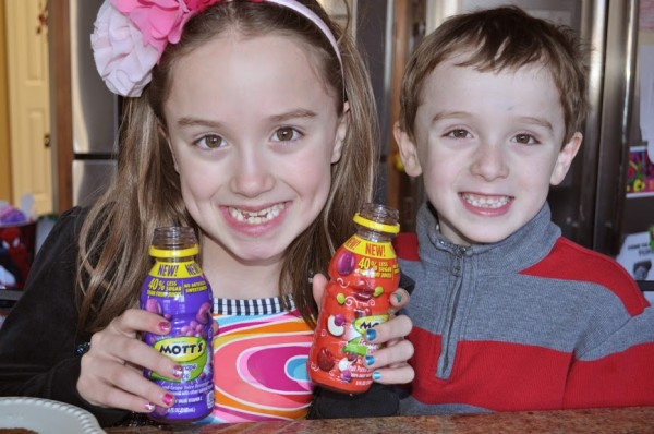 Kyle Kenzie Mott's Juice drink