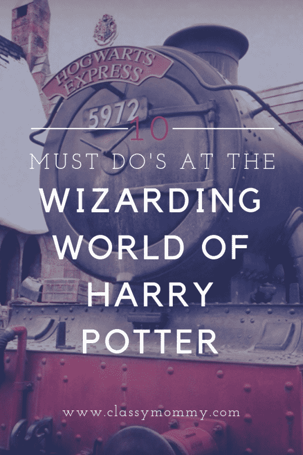10 Must Do Attractions and Activities at the Wizarding World of Harry Potter