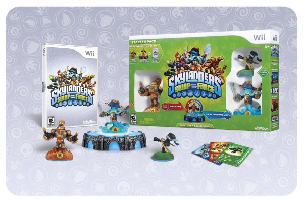 skylanders swap force starter kit