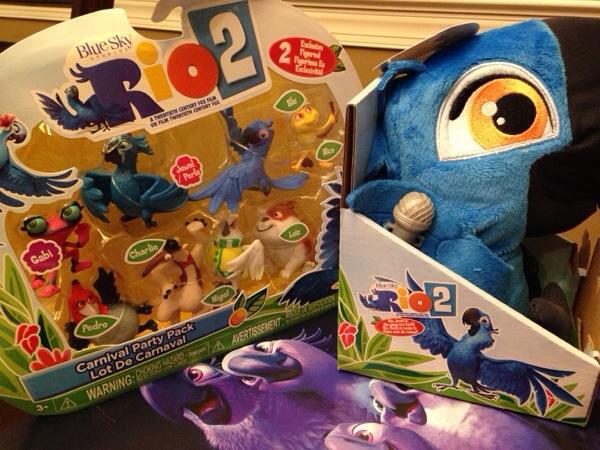 Rio 2 Plush Toys