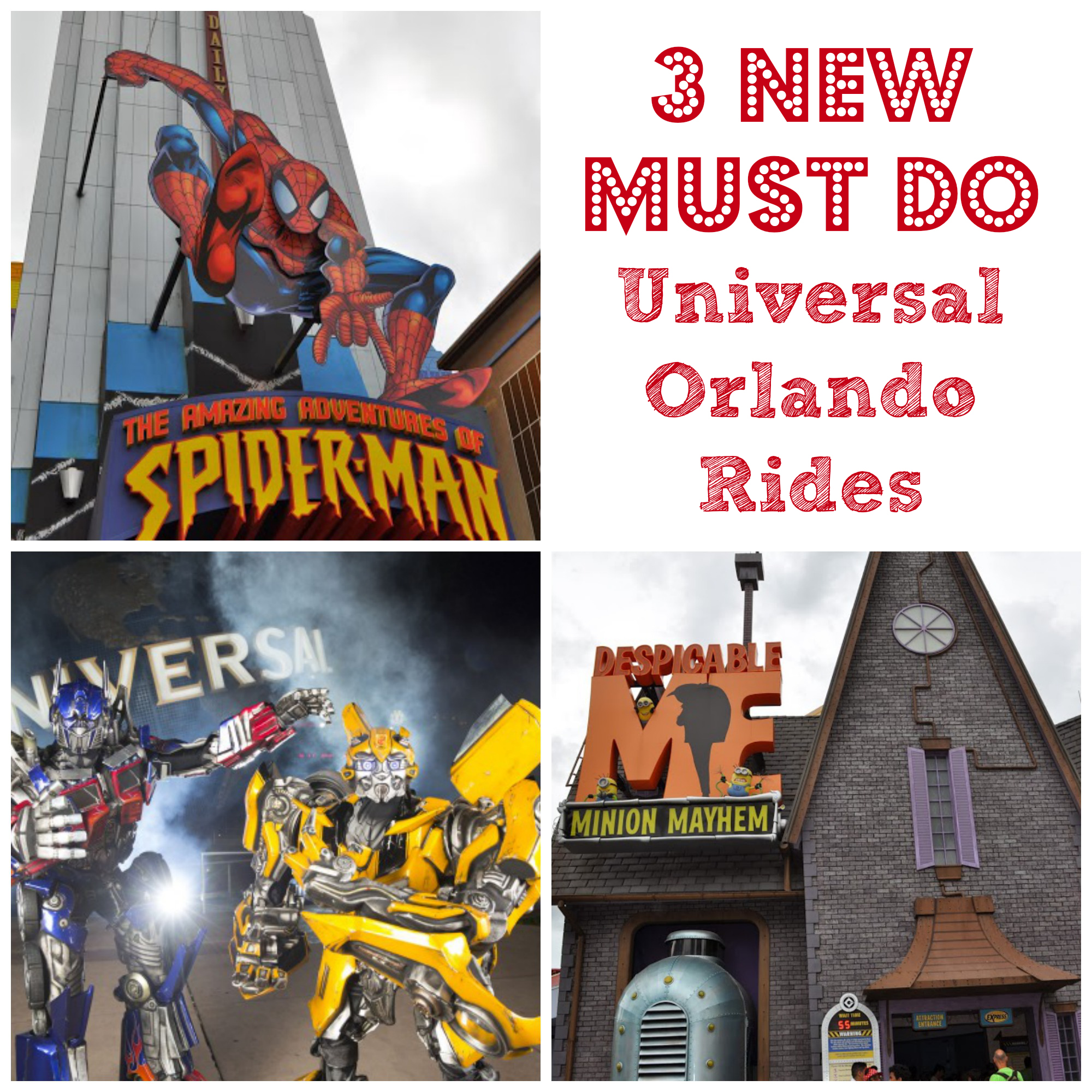 3 New Must Do Universal Orlando Rides