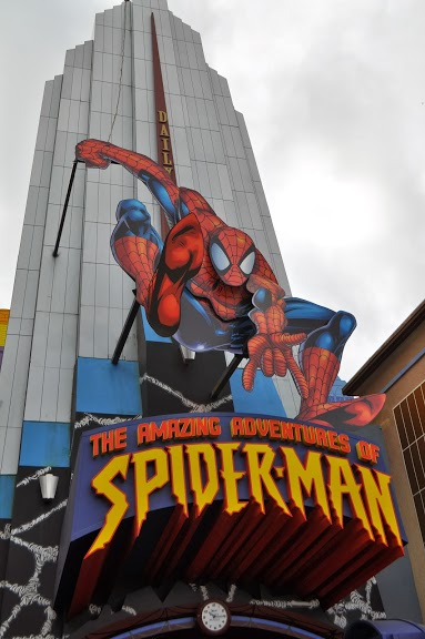 Amazing Spiderman 3D ride