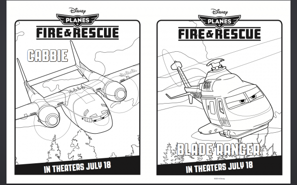 Free Disney Planes Coloring Pages Disney Planes Fire & Rescue