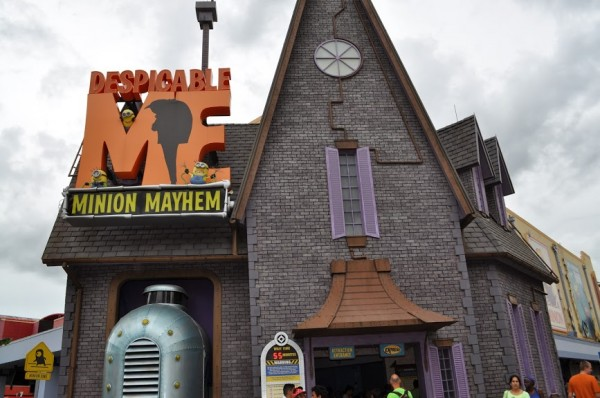 Gru's House Despicable Me Minion Mayhem Ride at Universal