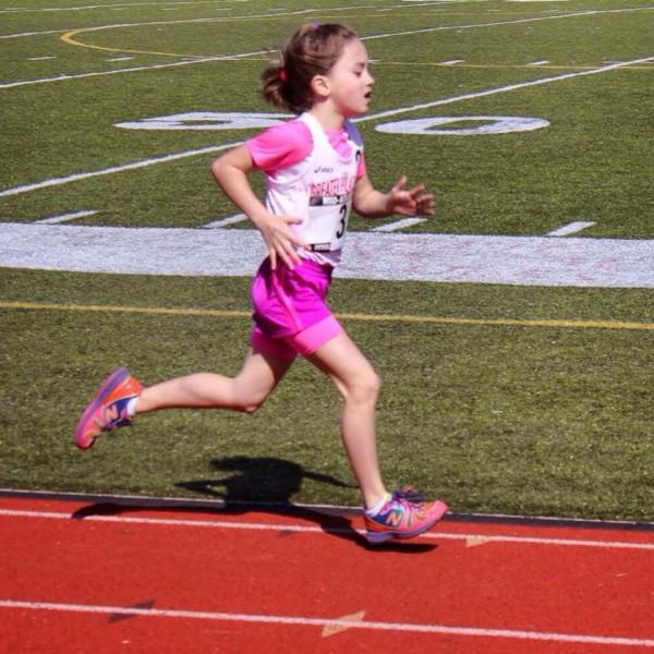 Kenzie 1st 1500m USATF meet