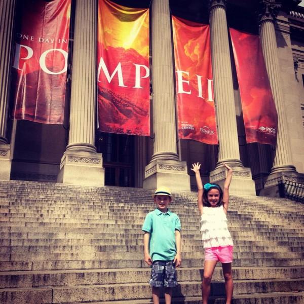 Pompeii exhibit Franklin Institute