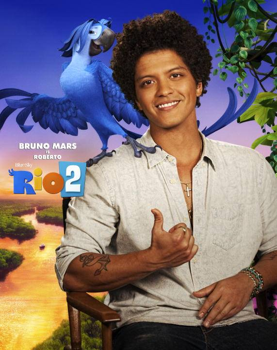 Rio2-BrunoMars as Roberto