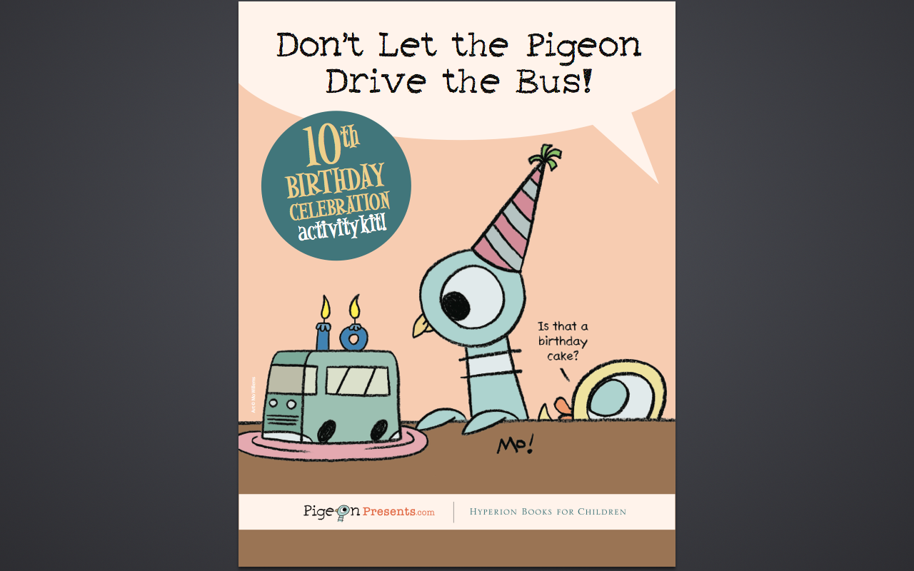 Mo Willems The Pigeon Needs a Bath