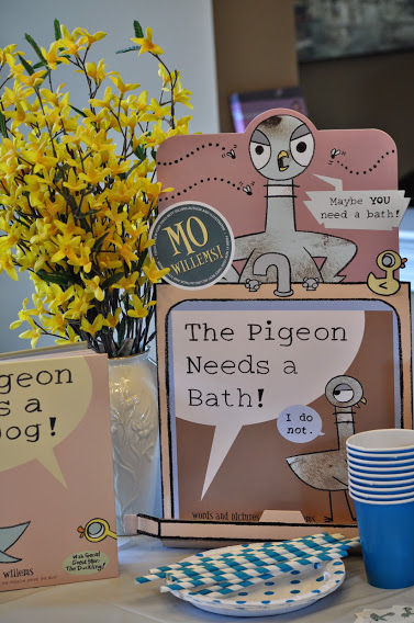 The Pigeon Needs a Bath Party