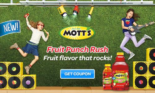 Mott's Juice Coupon
