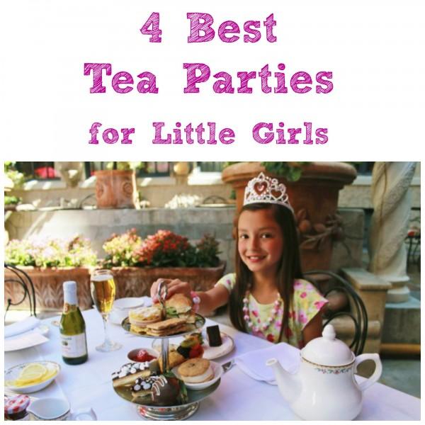 Best 4 Tea Parties for Little Girls