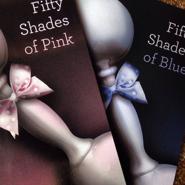 50 Shades Of Pink Or Blue Baby Shower Gift For 50 Shades Of Grey