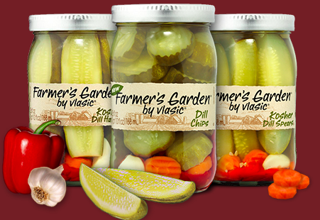 Vlasic farm fresh pickles twitter party tonight 8 pm est with farmersgarden farmtojarchat for Vlasic farmer s garden pickles