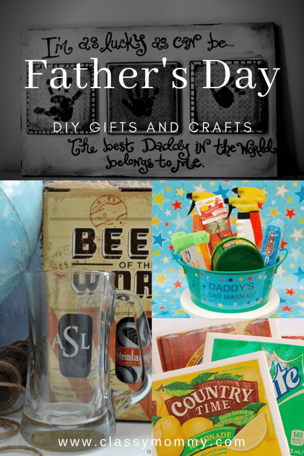 25 EASY Homemade Crafts for Father's Day