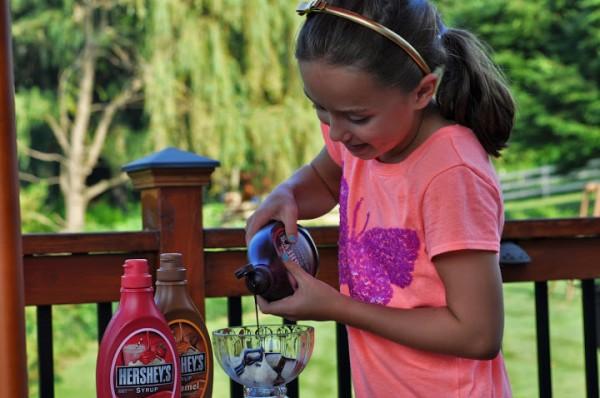 Kenzie Hershey's Syrup Sundae