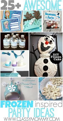Best Frozen birthday party ideas