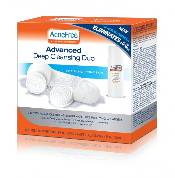 AcneFree advanced cleansing duo