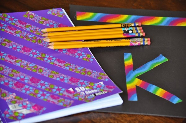 DIY Back to School Supplies Ideas