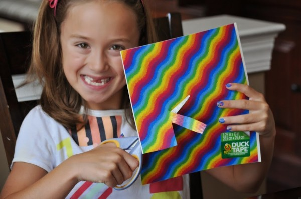 Duck Tape Sheets DIY School Supplies