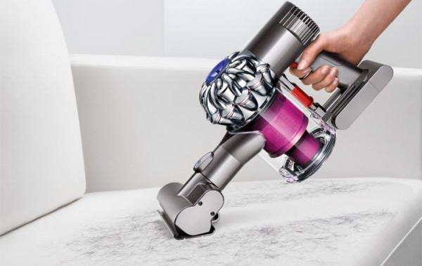 Dyson Digital Slim DC59 cordless handheld on stairs