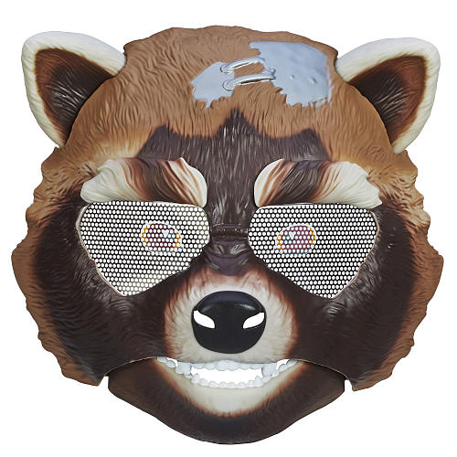 Guardians of the Galaxy Rocket Raccoon Mask Video Review