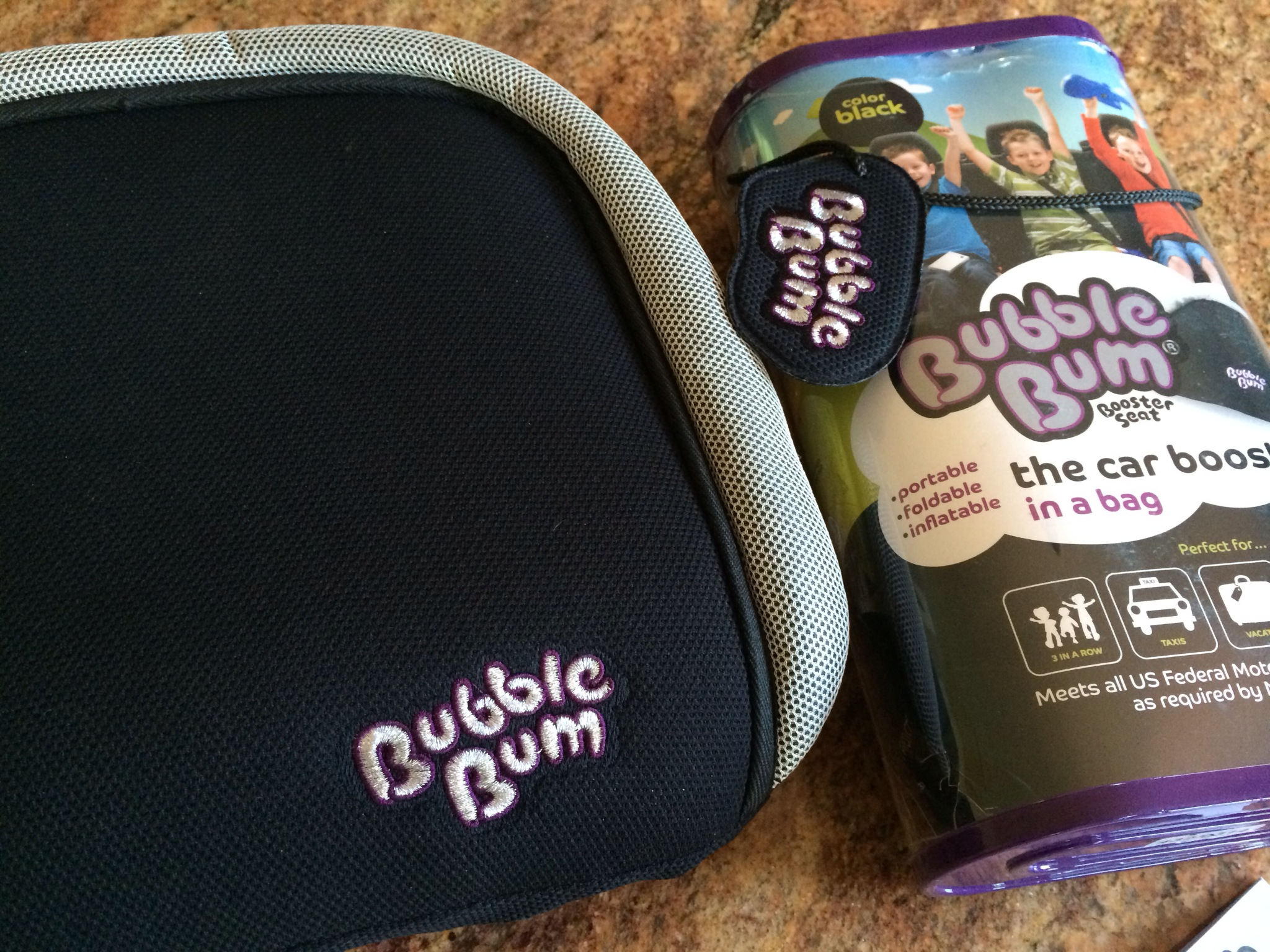 Inflatable Bubble Bum Booster Seat Video Review