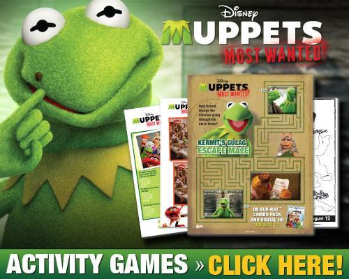 Muppets Most Wanted Free Coloring pages