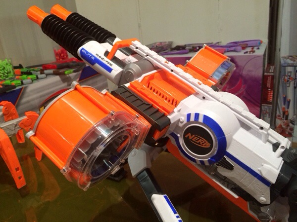 Nerf Rhino Fire Video Review
