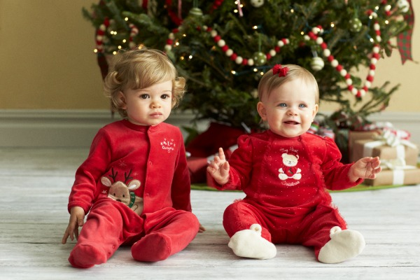 Babies 1st Christmas Little Me collection