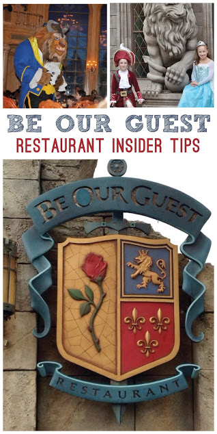 Must Do Disney: Photos and Video Review of Dining at Be Our Guest Restaurant Insider Tips