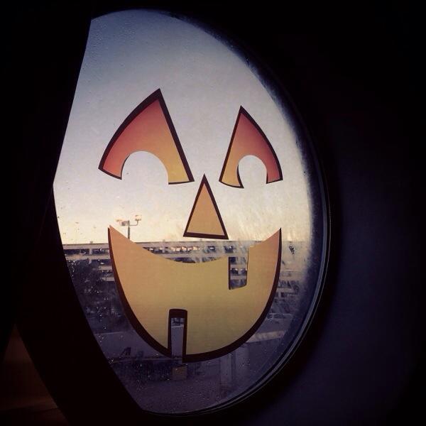 Halloween Window clings Disney Cruise