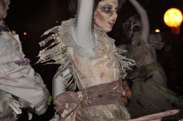 Haunted Mansion parade cast