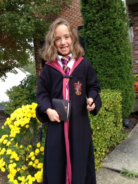 Hermione Robe makes a great Halloween Costume