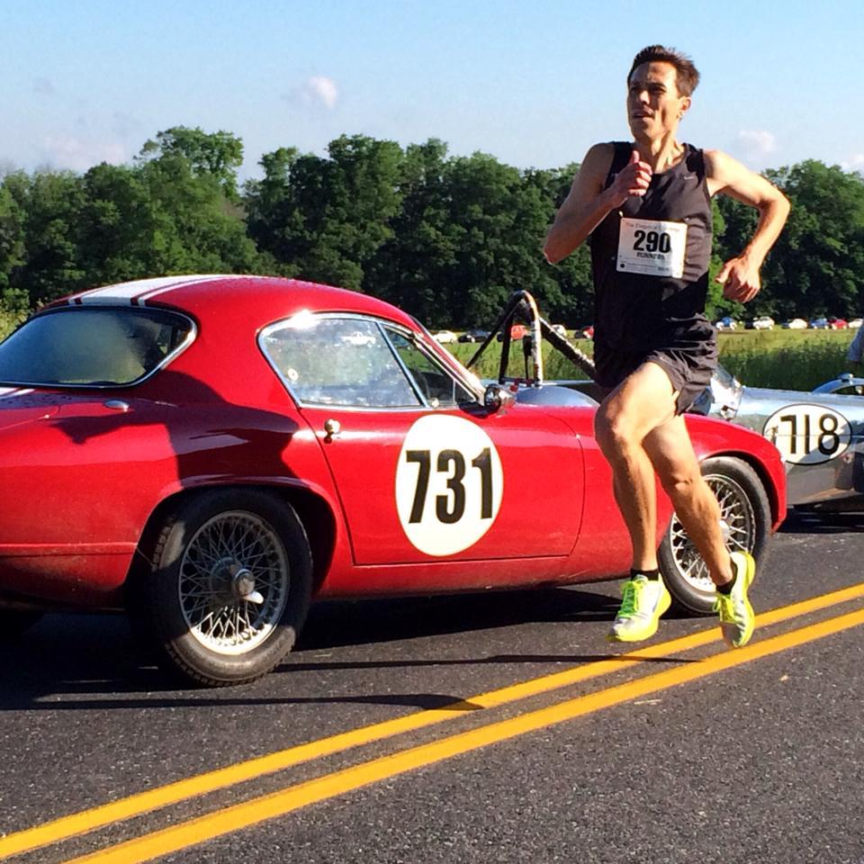 Mike running #FastAdvil