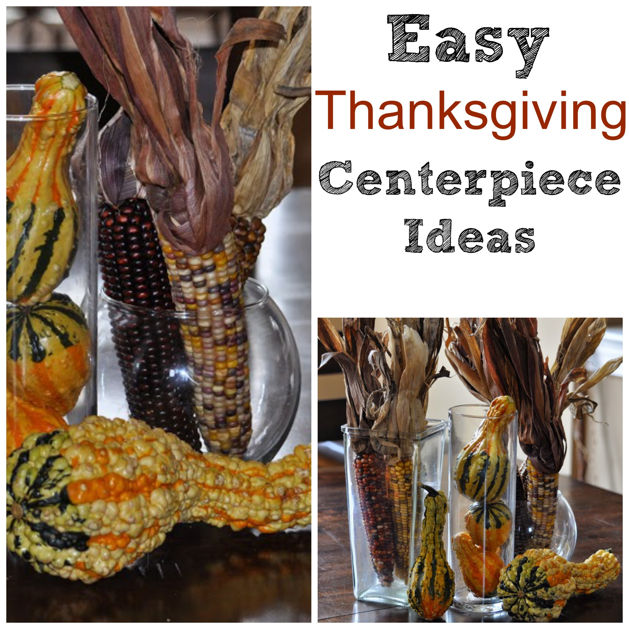 Video tips on how to create a thanksgiving centerpiece