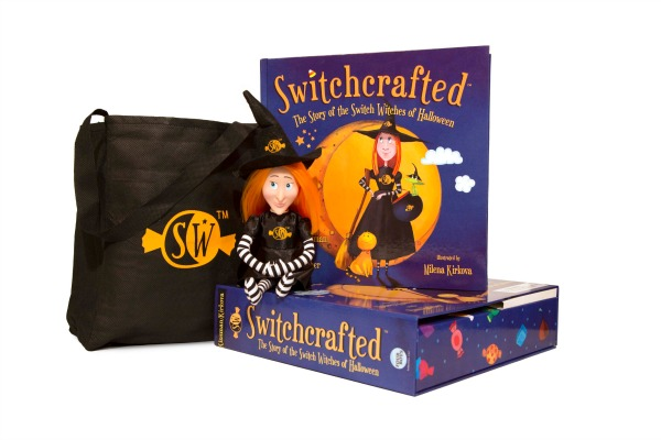Switchcrafted Kit Halloween book switch witches trade candy for a toy