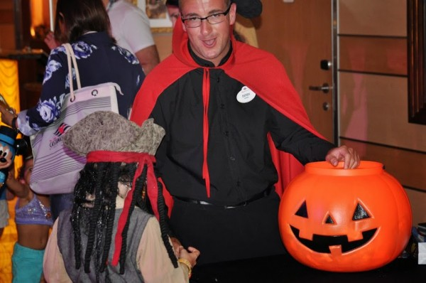 trick or treat kyle on Disney Cruise