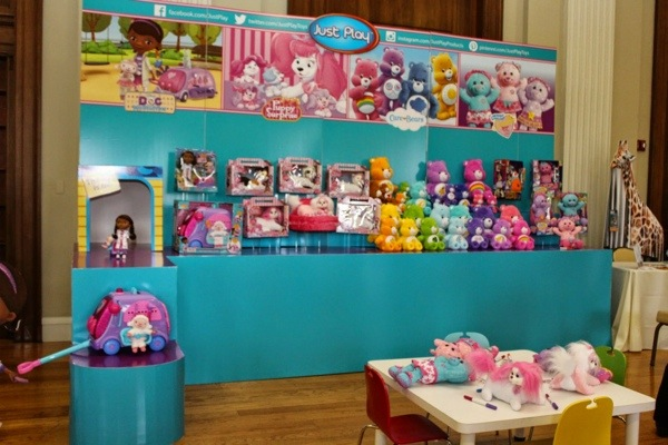 Just Play Toys : Just play thrills moms at the holiday mom mixer with care