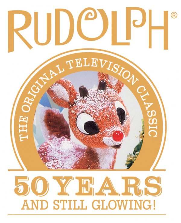 50 Years Rudolph Official Logo
