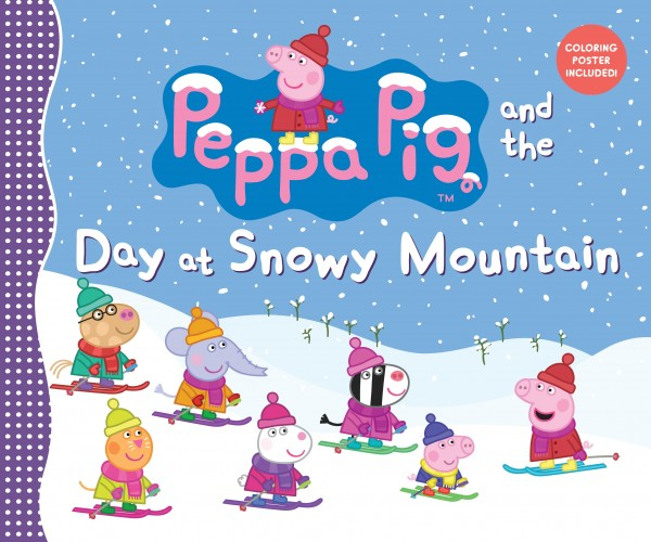 Peppa Pig Day At Snowy Mountain