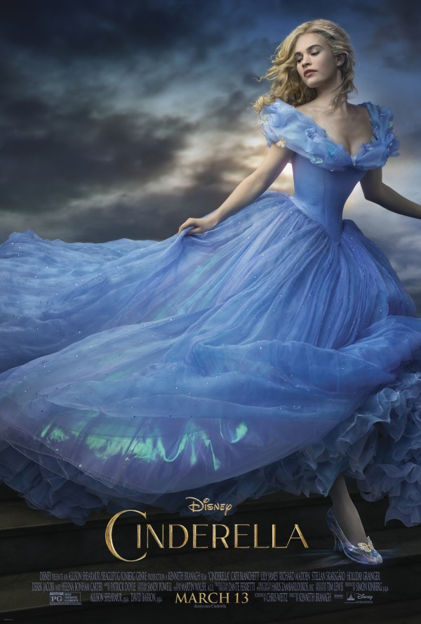 New Disney Cinderella Movie Poster March 2015