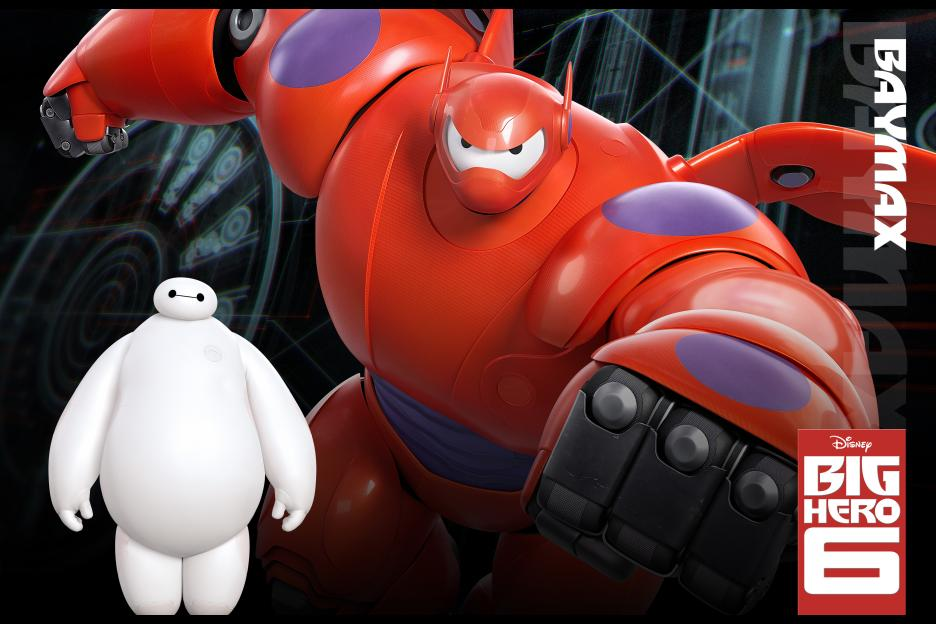 Big Hero 6 Free Disney Printable Coloring Pages