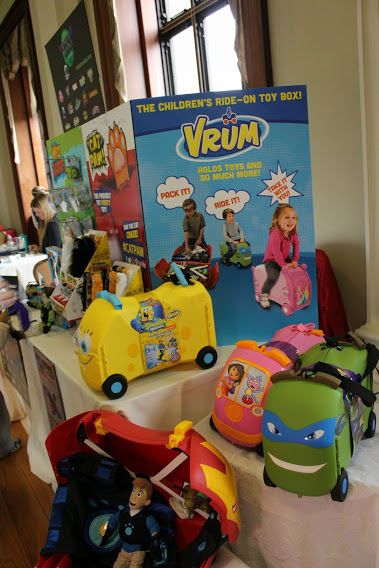 Vrum ride on toy boxes