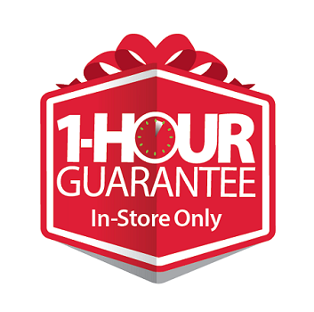 Walmart 1 Hour Guarantee