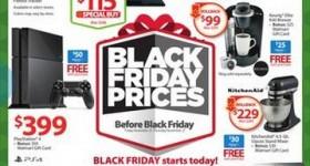Walmart Pre Black Friday Sales Event Circular