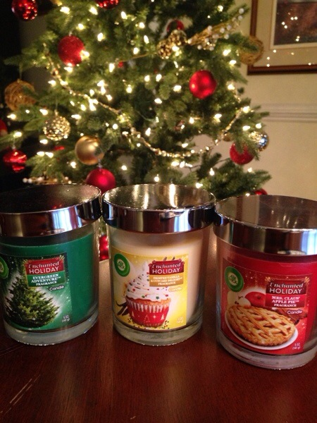 Holiday Candles from Air Wick