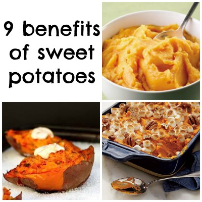 9 Benefits of Sweet Potatoes