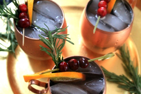 Easy Holiday Mule Recipe and Photos