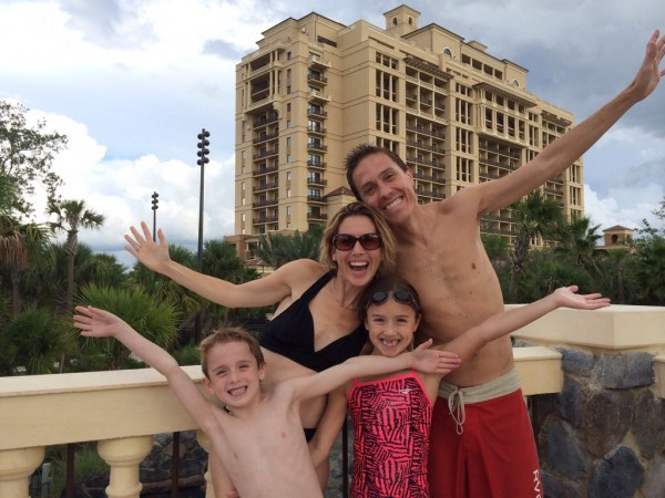 Four Seasons Orlando family photo