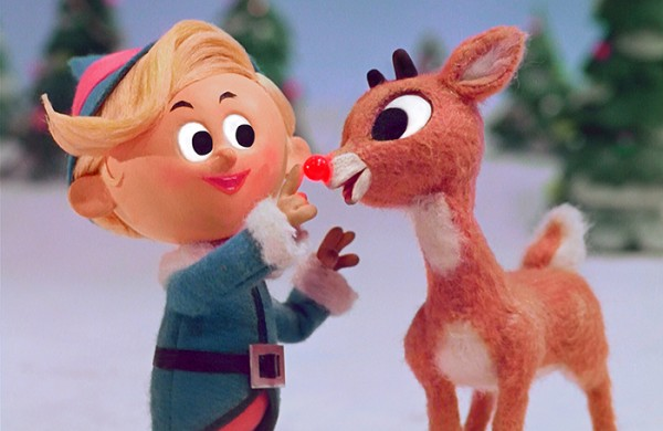 Hermey and Rudolph